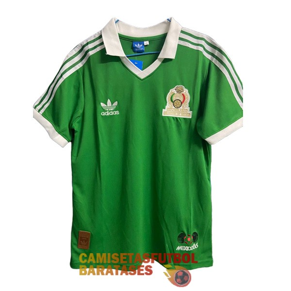 mexico camiseta retro primera 1986