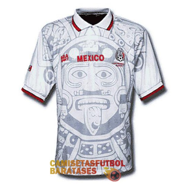 mexico retro segunda camiseta 1998