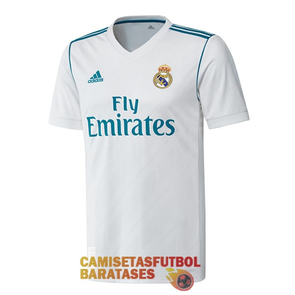 real madrid camiseta retro primera 2017 2018