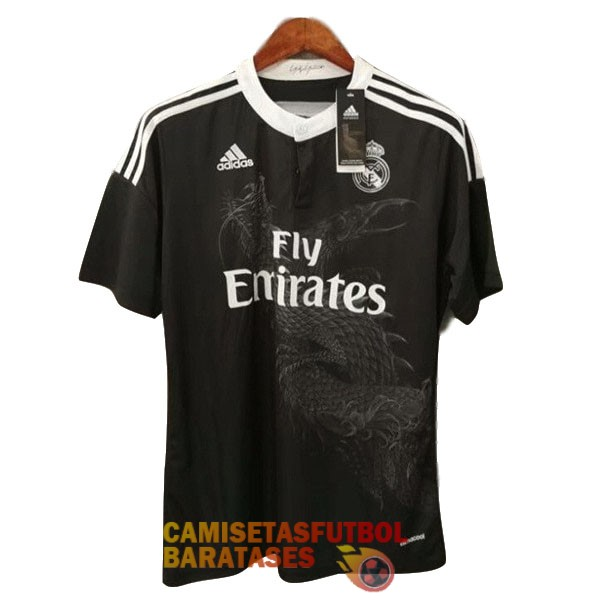 real madrid camiseta retro tercera 2014 2015