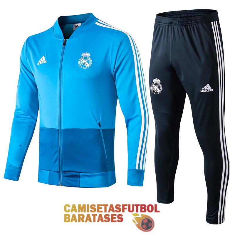 real madrid chaqueta azul 2019 2020