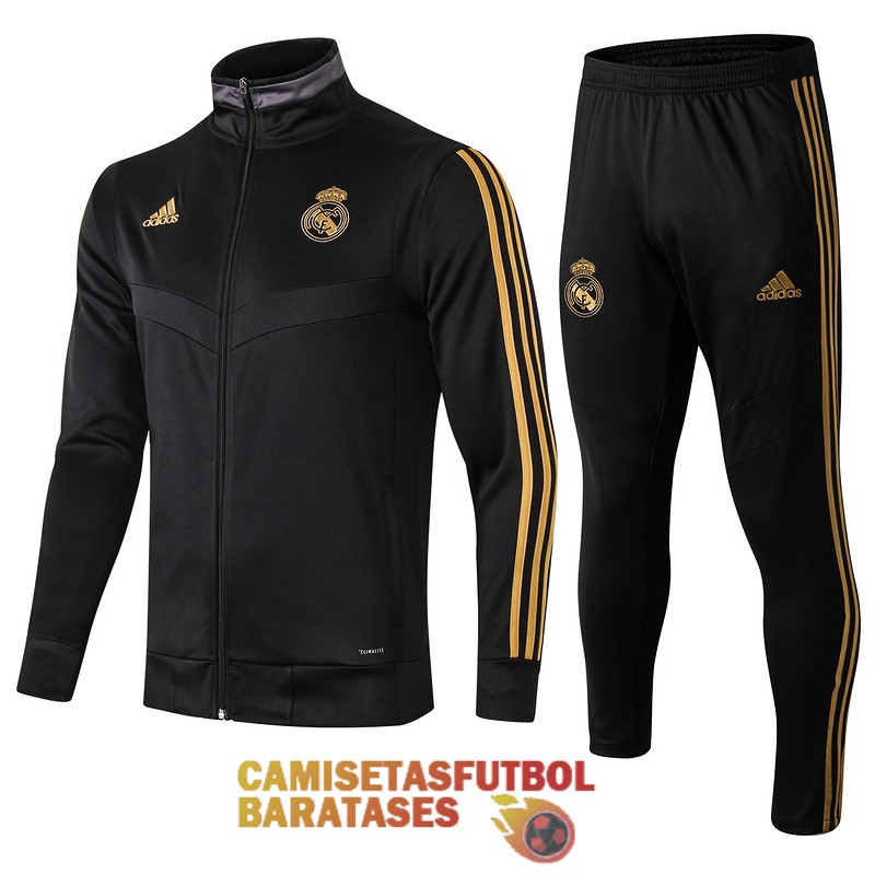 real madrid chaqueta negro 2019 2020