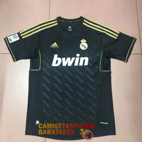 real madrid retro segunda camiseta 2011-12