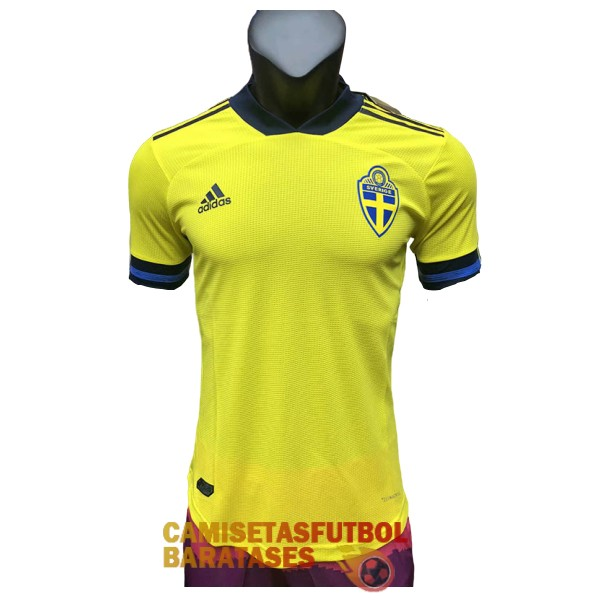 suecia primera version player camiseta 2020